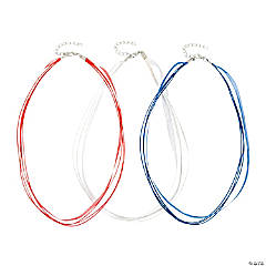 Patriotic Cording Necklaces