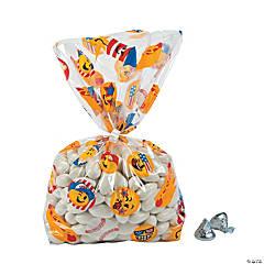 Patriotic Emoji Cellophane Bags