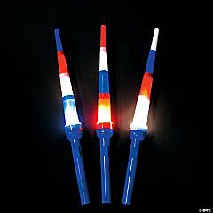 Patriotic Expanding Light-Up Swords
