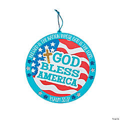 Patriotic Faith Sign Craft Kit