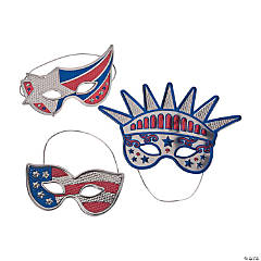 Patriotic Fancy Masks