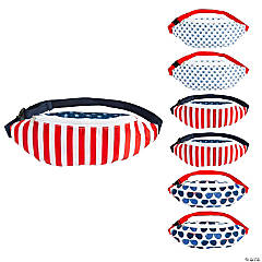 Patriotic Fanny Packs