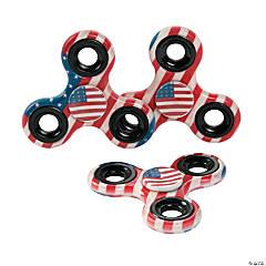 Patriotic Fidget Spinners