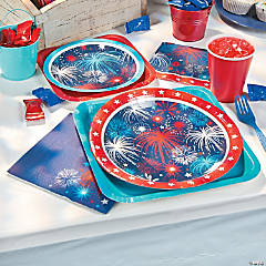 Patriotic Fireworks Party Supplies