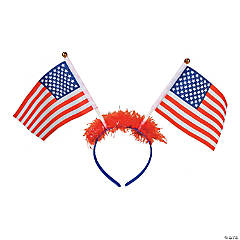 Patriotic Flag Head Boppers