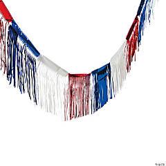 Patriotic Fringe Foil Banner