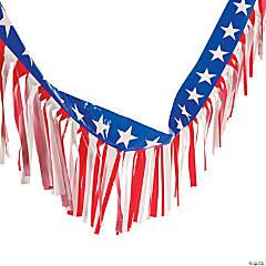 Patriotic Fringe Garland