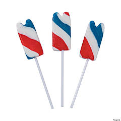 Patriotic Frozen Treat Lollipops