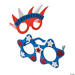 Patriotic Glasses Craft Kit