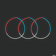 Patriotic Glow Tri-Color Necklaces