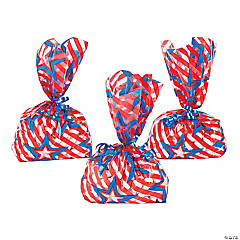 Patriotic Goody Cellophane Bags