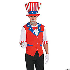 Patriotic Hat and Shirt for Adults