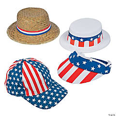 Patriotic Hat Assortment