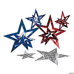 Patriotic Laser Stars