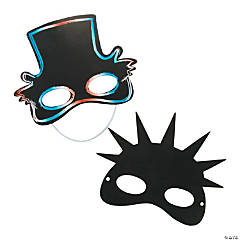 Patriotic Magic Scratch Masks