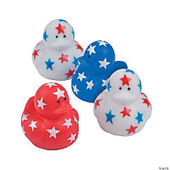 Patriotic Mini Rubber Duckies