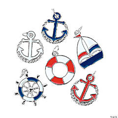 Patriotic Nautical Charms
