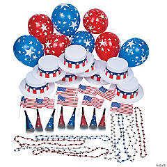 Patriotic Party Kit for 25