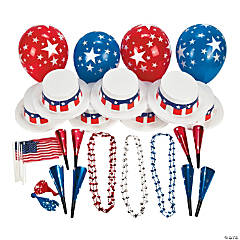 Patriotic Party Kit For 12