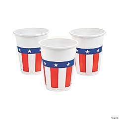 Patriotic Plastic Cups