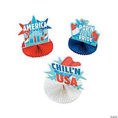 Patriotic Pop Tissue Centerpieces