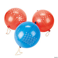 Patriotic Punch Ball Balloon Assortment