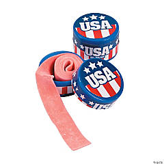 Patriotic Roll Tape Gum