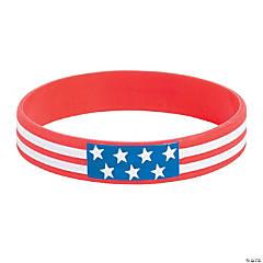 Patriotic Rubber Bracelets