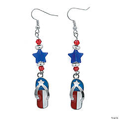 Patriotic Star Earrings Idea
