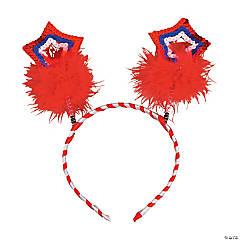 Patriotic Star Head Boppers