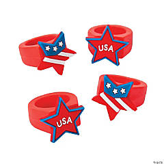 Patriotic Star Rings