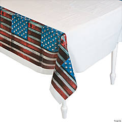 Patriotic Steel Tablecloth