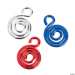 Patriotic Swirl Charms