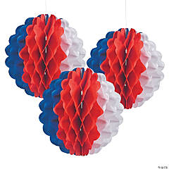 Patriotic Tissue Balls