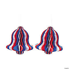 Patriotic Tissue Bells