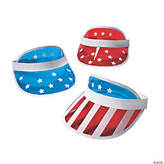 Patriotic Transparent Visors