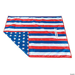 Patriotic Yard Blanket