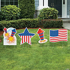 Patriotic Yard Signs