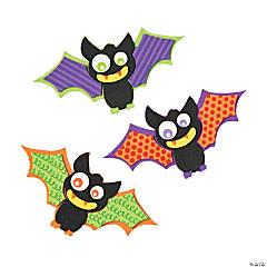 Patterned Bat Magnet Craft Kit