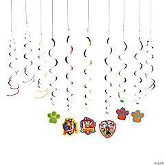 Paw Patrol Hanging Swirl Decorations Value Pack