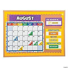 Paw Print Bulletin Board Calendar