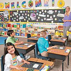 Paw Print Classroom Theme