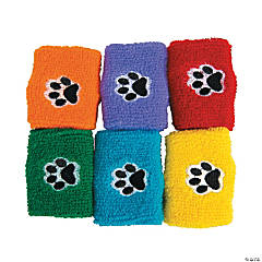Paw Print Wristbands