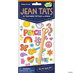 Peace & Love Jean Tats Pack