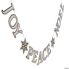 Peace on Earth Christmas Garland
