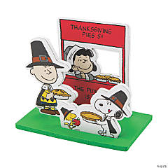Peanuts® 3D Thanksgiving Scene Craft Kit