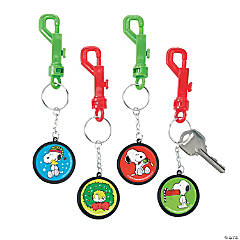 Peanuts® Christmas Backpack Clip Keychains