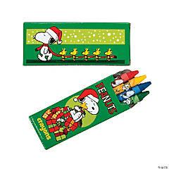 Peanuts® Christmas Crayons