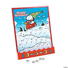 Peanuts® Christmas Disc Drop Game