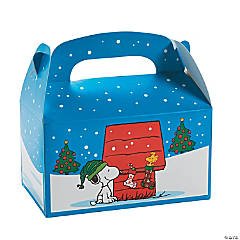 Peanuts® Christmas Favor Boxes